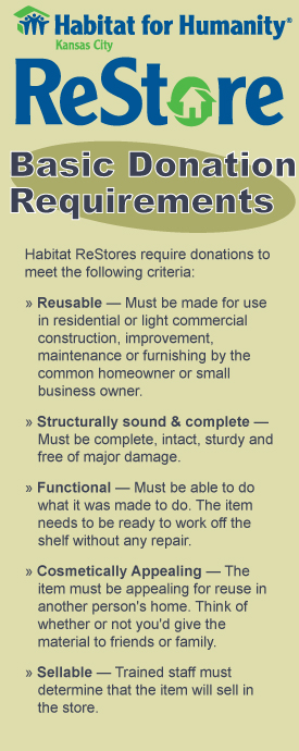 Habitat-ReStore-Requirements